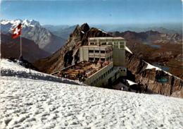 Titlis - Gipfelrestaurant (6171) * 30. 7. 1970 - OW Obwalden