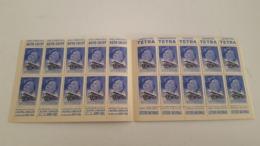 RARE ANTIQUE FRANCE CARNET VIGNETTE CINDERELLA COMITE NATIONAL DE DEFENSE CONTRE LA TUBERCULOSE 20º ANNIV 1939 - Commemorative Labels