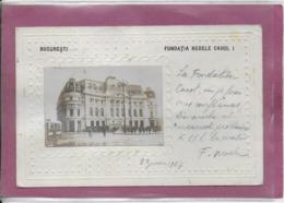 BUCARESTI - Fundatia Regel Carol - Roumanie