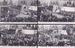 MOOI LOT VAN 10 X CPA * CORTEGE CONSCIENCE 100e Anniversaire - Eeuwfeest Conscience Praalstoet * Nieuwstaat !! - Antwerpen