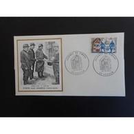 FDC Thiaude - Journée Du Timbre - La Poste Aux Armées En 1915 - 27/03/1971 Verdun - 1970-1979