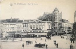 Bruxelles // Porte De Namur ( Vue Diff.) 192? - Squares