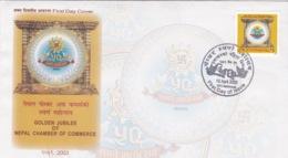 Nepal - Golden Jubilee Of Nepal Chamber Of Commerce - Népal