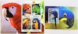 #Montserrat 2007**Mi.1394-98  Parrots , MNH [26;33] - Papagayos
