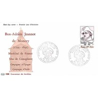 FDC PAC 1058 - Maréchal Moncey - 22/5/1976 Palise Et Paris - 1970-1979