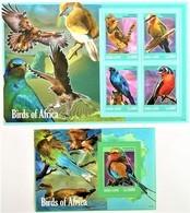 #Sierra Leone 2013**Mi.5845-49  Birds Of Africa , MNH [16;94] - Vögel