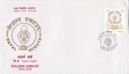 Nepal - Golden Jubilee SCOUTS 1952-2002 - Népal