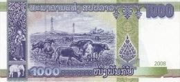 LAOS P. 39a 1000 K 2008 UNC - Laos