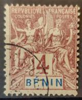BENIN 1894 - Canceled - YT 35 - 4c - Usati