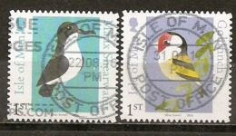Isle Of Man 2016 Oiseaux Goldfinch Birds Obl - Isle Of Man