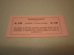 Norwegen 1962 Markenheftchen MH 474 Postfrisch MNH 5,00 Kr Booklet Norge - Markenheftchen