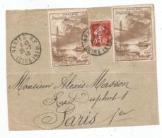 - SEMAINE D'AVIATION - NANTES - 1910 - 1906-38 Semeuse Camée