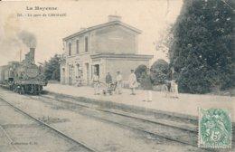 Chemazé (53 - Mayenne) La Gare - Coll. GD N° 341 (état) - France