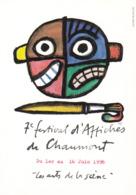 FRANCOIS  André  - 7ème Festival D'affiches De Chaumont  - CPM  10,5x15  TBE  1996  Neuve - Illustrators & Photographers