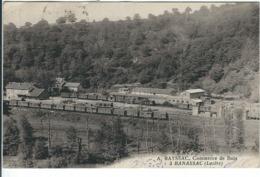 """Lozère : Banassac, (Près La Canourgue), Exploitation Forestière """"A. Rayssac"""", Commerce De Bois, RARE... - France"""