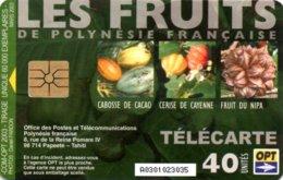 *POLINESIA FRANCESE* - Scheda Usata - Französisch-Polynesien