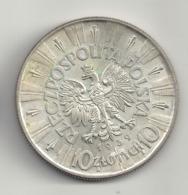 10 Zlotych 1939 Polen.Silber. Zustand!!! - Polen