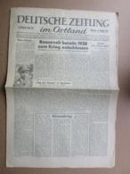 """Newspaper """" DEUTSCHES ZEITUNG Im OSTLAND """" Riga / Latvia  1943 WWII - 1939-45"""