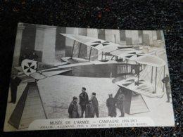 """Musée De L'armée, Campagne 1914-1915, """"Aviatik"""" Allemand Pris à Jonchery  (B9) - 1914-1918: 1. Weltkrieg"""