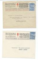 3 Enveloppes Avec Nr 771 Seul - Dont 2 Oeuvre Nationale Contre La Tuberculose - 1948 Export