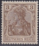 Germany, Scott #68, Mint Hinged, Germania, Issued 1902 - Germany