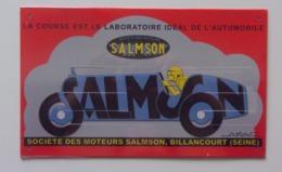 Plaque Publicitaire Métal – Salmson - Plaques Publicitaires