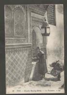 Maroc. Fès. Zaouia De Moulay Idriss. Fontaine. - Monuments