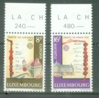 Luxembourg 1982; Europa Cept, Michel 1052-1053.** (MNH) - Europa-CEPT