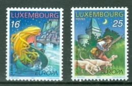 Luxembourg 1997; Europa Cept, Michel 1418-1419.** (MNH) - Europa-CEPT