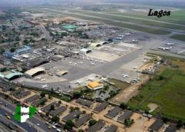 Nigeria Lagos Airport Aerial View New Postcard Flughafen AK - Nigeria