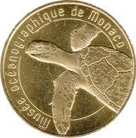 98 MONACO MUSÉE OCÉANOGRAPHIQUE TORTUE MÉDAILLE TOURISTIQUE MONNAIE DE PARIS 2019 JETON MEDALS TOKENS COINS - 2019