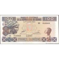 TWN - GUINEA 35b - 100 Francs 2012 Prefix DE UNC - Guinea