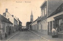 Oost-Vlaanderen Assenede  Boekhoute  Weststraat  Kinderen  J. Van De Walle Stempel Bouchoute Op Zegel !     L 1414 - Assenede