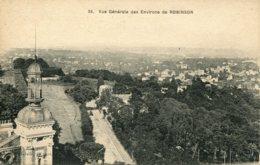 CPA - ROBINSON - VUE GENERALE DES ENVIRONS (AVEC AVENUE) - France