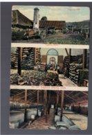 MALAYSIA Penang Tapioca Mill 3 View Pc Ca 1910 OLD POSTCARD - Malaysia