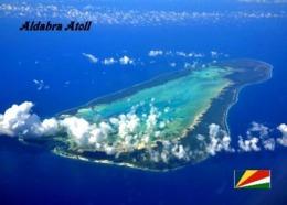 Aldabra Atoll Aerial View Seychelles UNESCO New Postcard Seychellen AK - Seychellen