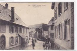 Haut-Rhin - Orbey (altitude 500 M.) - Rue Principale - Orbey