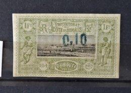Cote Des Somalis N° 24 * - MH  - Beau  - Cote : 115 Euros - Neufs