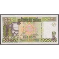 TWN - GUINEA 36b - 500 Francs 1998 Prefix JE UNC - Guinea
