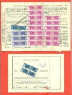 PACCHI POSTALI - STORIA POSTALE - LOTTO 21 PEZZI CON AFFRANCATURE  VARIE - 6. 1946-.. Repubblica