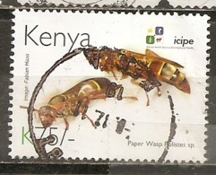 Kenya 2012 Insect Wasp Obl - Kenya (1963-...)