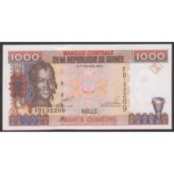 TWN - GUINEA 37 - 1000 1.000 Francs 1998 Prefix FD UNC - Guinea