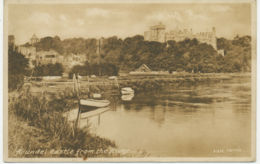 UK ARUNDEL Castle From The River, Unused, Ca. 1930 - Arundel