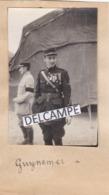 Guerre 14/18 Aviation - Photo Originale De L'as De L'aviation Georges GUYNEMER Dans La Somme - Aviation