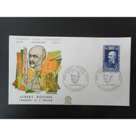 FDC - Albert Roussel. Compositeur - 22/3/1969 Tourcoing - FDC