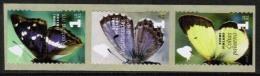 2007 Finland Butterflies 3-strip MNH **. - Finland