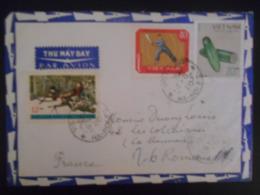 Viet-nam Lettre De Ha-noi 1970 Pour Romans - Viêt-Nam