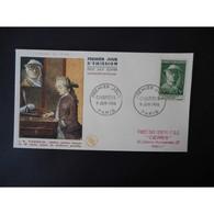 FDC - Chardin, Peintre - Oblit Paris 9/6/56 - FDC
