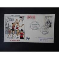 FDC - Les Sports, Basket Ball - Oblit Mulhouse 7/7/56 - FDC