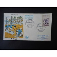 FDC - Les Sports, Rugby - Oblit Toulouse 7/7/56 - FDC